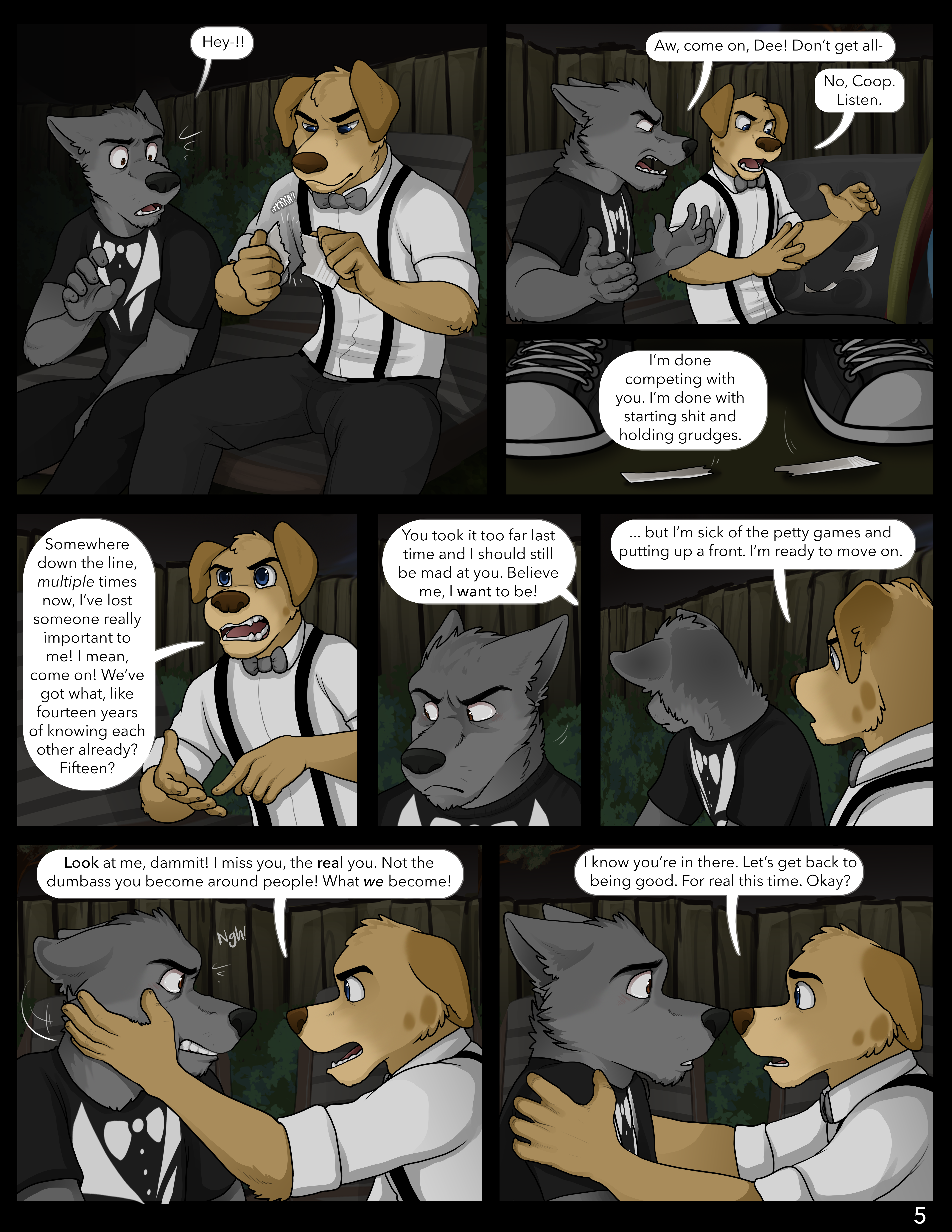 Best furry porn comics