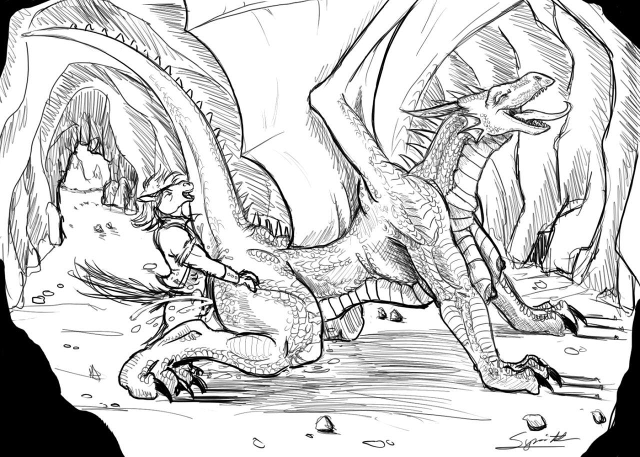 Dragons sex porn art porno picture