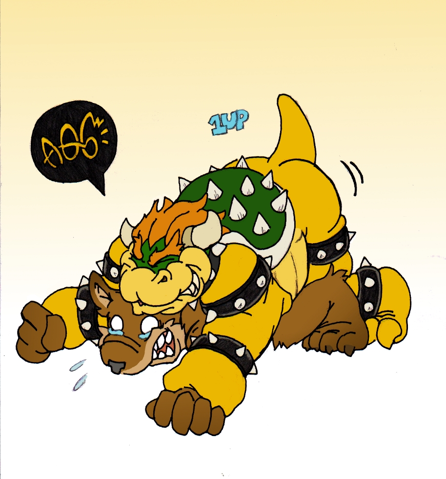 King bowser yiff gay collection pictures video-4660